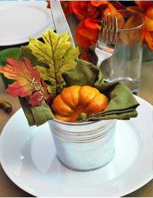 thanksgiving/fall table setting