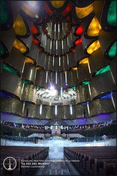 Interior del Templo Sede Internacional de la Iglesia La Luz del Mundo en la ciudad de Guadalajara, Jal. México. #lldm #templosede
