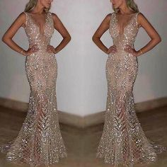ProductName Sexy sleeveless deep V sequined dress Brand Chicsit SKU Material Polyester Season Autumn Occasion party Sleeve sleeveless Gender Women Decoration SIZE/CM bust waist length S 82 66 148 M 86 70 149 L 90 74 150 XL 94 78 151 White Wedding Dresses, Elegant Dresses, Sexy Dresses, Formal Dresses, Formal Wedding, Long Dresses, Dress Wedding, Lace Wedding, Wedding Dressses
