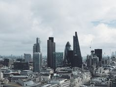 London Skyscrapers - Photographer Rob Bye – Design. / Visual.