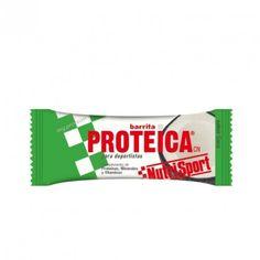 NutriSport, 1,35€ Barrita Proteica de Coco, un complemento dietético de proteínas lácteas con minerales y vitaminas para la rápida recuperación y cubrir las necesidades aumentadas en el esfuerzo físico intenso