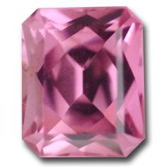 Pink Tourmaline. Simply stunning! Fabulous color - a pretty, bright pink, explosive brilliance and lots of life. Very eye catching.1.04 Carats.