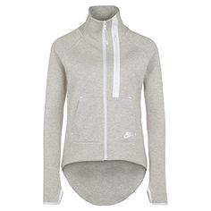 Nike Women's Tech Fleece Moto Cape Jacket -- You can get additional details at http://www.amazon.com/gp/product/B00WNGRN9U/?tag=ilikeboutique09-20&rw=030816000443