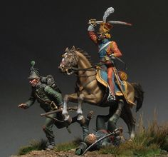 Hunting for the Grasshopers   Dioramas and Vignettes   Gallery on Diorama.ru