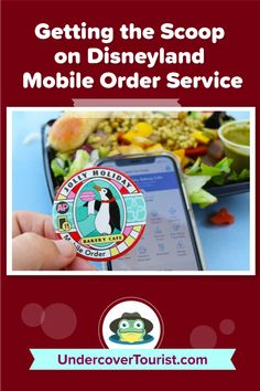 Here's the scoop on using Disneyland Mobile Order service. #disneyland #disneylandca #disneycaliforniaadventure #undercovertourist Disneyland California, Disney California Adventure, Disneyland Resort, Bakery Cafe, Have Fun