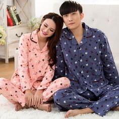 Men's Pajama Sets Men's Sleep & Lounge Collection Here Pijama Masculino Spring And Summer Pajamas Set Mens Thin Section Of Sleeved Pants Luxury Handsome Home Service Two Suits