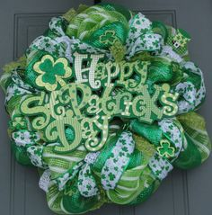 St Patrick's Day Wreath Saint Patrick's Day Wreath by EverWreath, $120.00