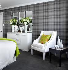 Grey tartan wallpaper is a stunning on-trend design for the winter Grey Tartan Wallpaper, Of Wallpaper, Ux Design, Interior Design, Bedroom Themes, Bedroom Decor, Bedrooms, Trends 2016, Decorating Rooms