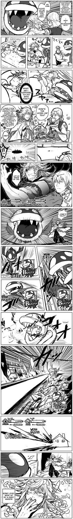 FGO x Pokemon x Super Mario