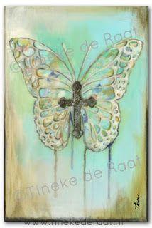 Tineke de Raat: Wings of faith . Vleugels van geloof .