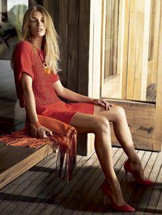 Samantha Gradoville by JR Duran for Vogue Brazil December 2014 1 Red Fashion, Fashion Shoot, Editorial Fashion, Jr Duran, Img Models, Fashion Videos, Better Half, Urban Chic, Strike A Pose