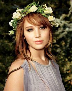 American Actress Jennifer Lawrence