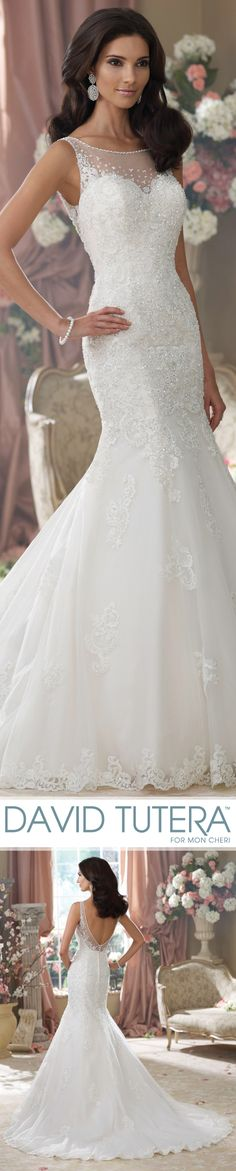 Style No. 214207 ~ Aly, Wedding Dresses 2014 Collection – Sleeveless embroidered lace and tulle over taffeta mermaid wedding dress Wedding Dresses 2014, Wedding Attire, Bridal Dresses, Wedding Gowns, Bridesmaid Dresses, Wedding Wear, Dresses 2016, Prom Dresses, Wedding Ideias