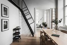 Bilder, Vardagsrum, Vit, tistel, Modernt, stege, Svart - Hemnet Inspiration