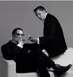 Every time I see this movie, it makes me so sad because Tom Hardy doesn't have a twin in real life