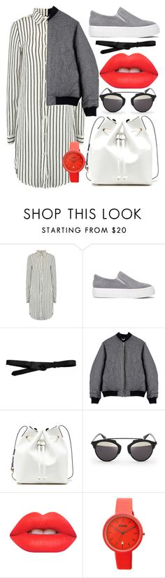 """""""Minimalism."""" by ro-mondryk on Polyvore featuring Lowie, Von Sono, Sole Society, Christian Dior, Lime Crime and Crayo"""