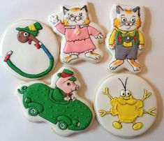 Busytown cookies | Cookie Connection