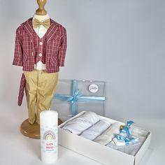 Trusou Botez Complet Casual Victor - Costum cu Trusou si Lumanare - 15%OFF Victoria, Costume, Coat, Casual, Kids, Jackets, Fashion, Young Children, Down Jackets