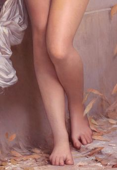 """Jules-Joseph Lefebvre - """"La Cigale"""" (1872) [detail]"""