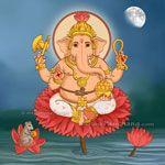List of Sankashti Chaturthi Vrat dates with moonrise timings in year 2017 for Washington, Illinois, United States. Shri Ganesh Images, Ganesha Art, Lord Ganesha, Indian Gods, Indian Art, Cat Pokemon, Ganesh Wallpaper, Tanjore Painting, Hindu Festivals