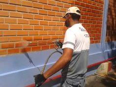Macro Pinturas Londrina - Impermeabilazação Air Less - YouTube