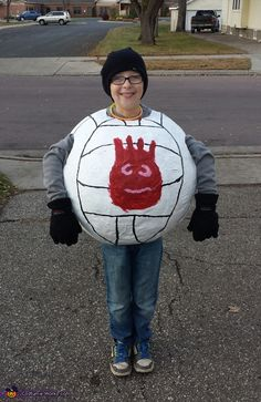 DIY Wilson Costume