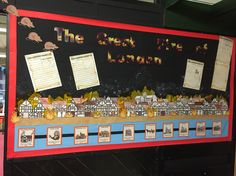 The Plague and The Great Fire of London  Year 2 display KS1 Part 3