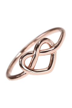 this ring showcases not one but two of the most adorable endless love symbols – #heart & #infinity I NEWONE-SHOP.COM