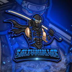 Team Logo Design, Mascot Design, Greek Titans, Ninja Art, Esports Logo, Twitch Tv, Game Logo, Cool Logo, Logo Design Inspiration