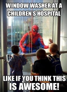 That would make a childs day if they are in hospital. imagine the sick kids in hospital seeing that