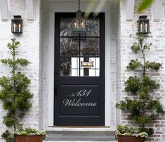 Welcome Number Wall Decal