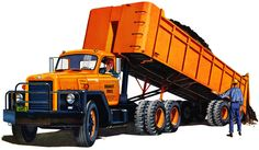Exceptional pickup trucks information is offered on our internet site. Read more and you will not be sorry you did. Dump Trucks, Pickup Trucks, Vintage Trucks, Old Trucks, Truck Store, Model Truck Kits, International Harvester Truck, Equipment Trailers, Dump Trailers
