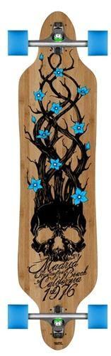 Madrid Bones Bamboo Drop Through Complete Longboard - This is my skateboard…