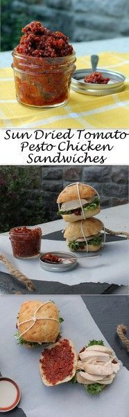 n dried tomato pesto gives a standard chicken sandwich a HUGE flavor boost.