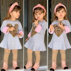 Dresses Kids Girl, Cute Girl Outfits, Kids Outfits, Baby Dress Patterns, Kid Swag, Sewing For Kids, Cute Kids, Kids Girls, New Baby Products