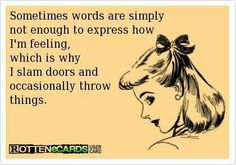 Sometimes words are simply not enough.....