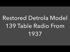 detrola radio for sale Restoration, Google