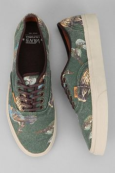 Vans Authentic CA Birds Sneaker - these remind me of my grammy.