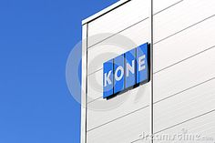 hyvinkaa finland | HYVINKAA, FINLAND - SEPTEMBER 26, 2015: KONE Signage at KONE People ...