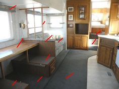 Rv+Interior+Remodeling+Ideas | ... RV Remodeling Demolition phase, of this winters RV Remodeling project