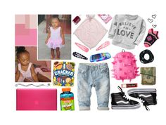 """""""babygirl kiley. """" by t-hey0fficia-l ❤ liked on Polyvore featuring Zara, Vans, OshKosh B'gosh, Old Navy, Hello Kitty, Essie, Chapstick, Incase and Forever 21"""