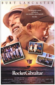 Rocket Gibraltar , starring Burt Lancaster, Suzy Amis, Patricia Clarkson, Frances Conroy. An old patriarch unites for his birthday all members of his family. But the group of people is full of personal and social problems. #Drama