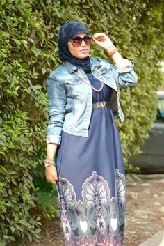 Casual hijab by Lady Fashion open day http://www.justtrendygirls.com/casual-hijab-by-lady-fashion-open-day/