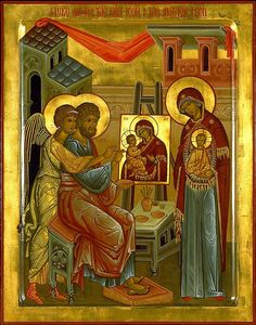 Maria Angela Grow: Lessons 4-6 from the Divine Office for St. Luke the Evangelist: From Chapter 7 of the Book on Ecclesiastical Writers by St. Jerome the Priest: