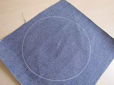 sew a perfect circle