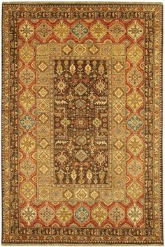 Thema Area Rug - Wool Rugs - Hand-knotted Rugs - Area Rugs - Rugs | HomeDecorators.com