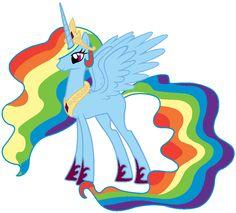 Princess Rainbow-Dash
