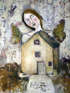 Mixed Media Art Original Painting by Misty Mawn by MistyMawn Art Painting, Artist Inspiration, Art For Art Sake, Painting Inspiration, Painting, Whimsical Art, Art, Figurative Art, Altered Art
