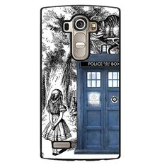 Alice Tardis Sketch Phonecase Cover Case For LG G3 LG G4