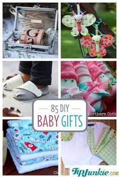 85 Baby Homemade Gifts to Make which are Amazing!